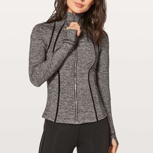 Lululemon define jacket in gray size 12